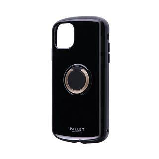 iPhone 11 ケース 耐衝撃リング付ハイブリッドケース「PALLET RING」 ブラック iPhone 11