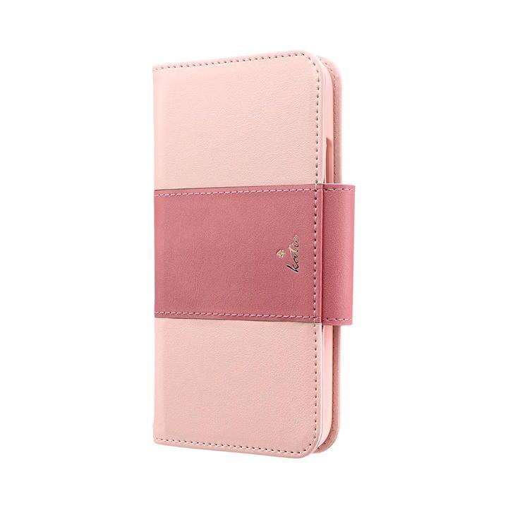 iPhone 11 ケース 上質PUレザーブックケース「PREMIER Katie」 ピンク iPhone 11_0