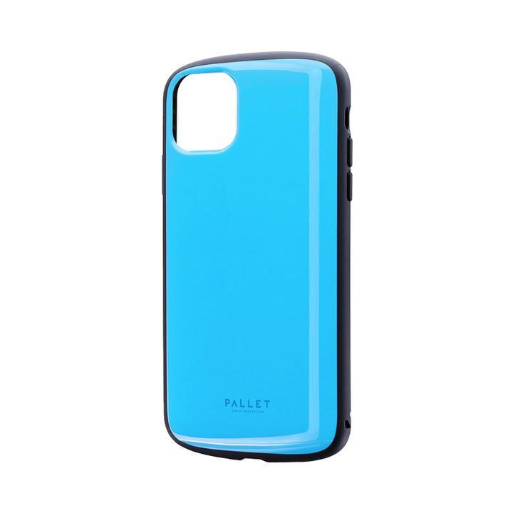 超軽量・極薄・耐衝撃ハイブリッドケース「PALLET AIR」 スカイブルー iPhone 11 Pro Max_0