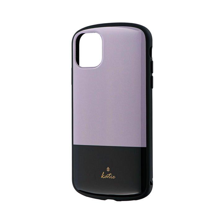 iPhone 11 ケース 超軽量・極薄・耐衝撃ハイブリッドケース「PALLET Katie」 ツートングレージュ iPhone 11_0
