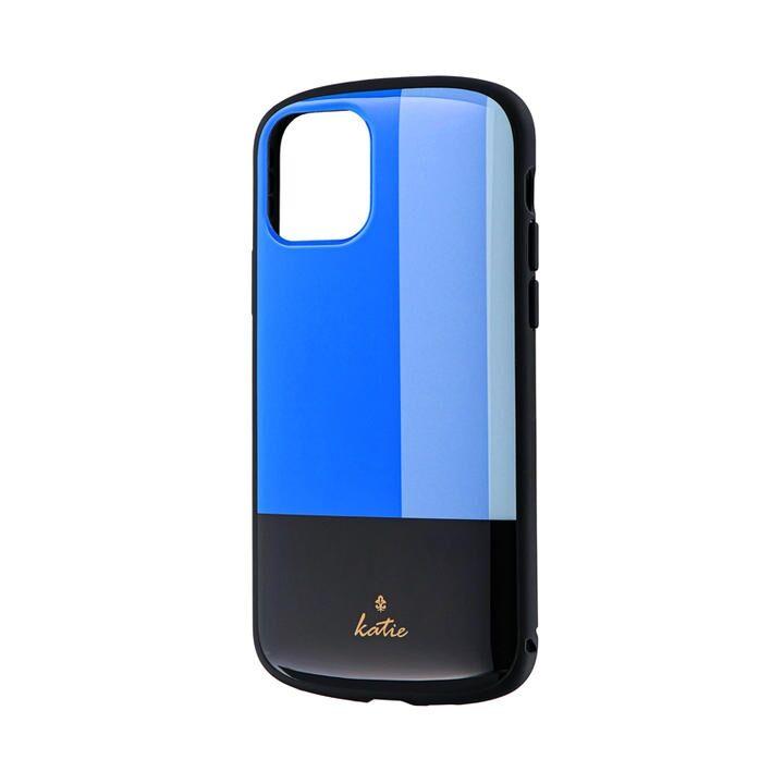 iPhone 11 Pro ケース 超軽量・極薄・耐衝撃ハイブリッドケース「PALLET Katie」 トリコロールブルー iPhone 11 Pro_0