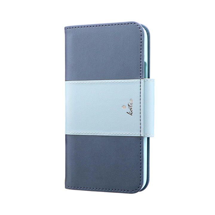 上質PUレザーブックケース「PREMIER Katie」 ブルー iPhone 11 Pro【9月中旬】_0