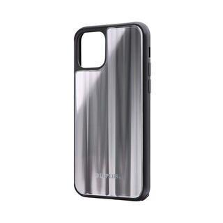 iPhone 11 Pro ケース 背面ガラスシェルケース「SHELL GLASS」 シルバー iPhone 11 Pro【9月中旬】