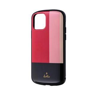 iPhone 11 Pro ケース 超軽量・極薄・耐衝撃ハイブリッドケース「PALLET Katie」 トリコロールピンク iPhone 11 Pro