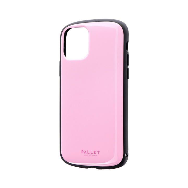超軽量・極薄・耐衝撃ハイブリッドケース「PALLET AIR」 ピンク iPhone 11 Pro【9月中旬】_0