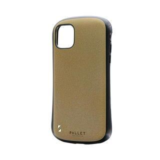 iPhone 11 ケース 超軽量・極薄・耐衝撃ハイブリッドケース「PALLET STEEL」 イエローベージュ iPhone 11