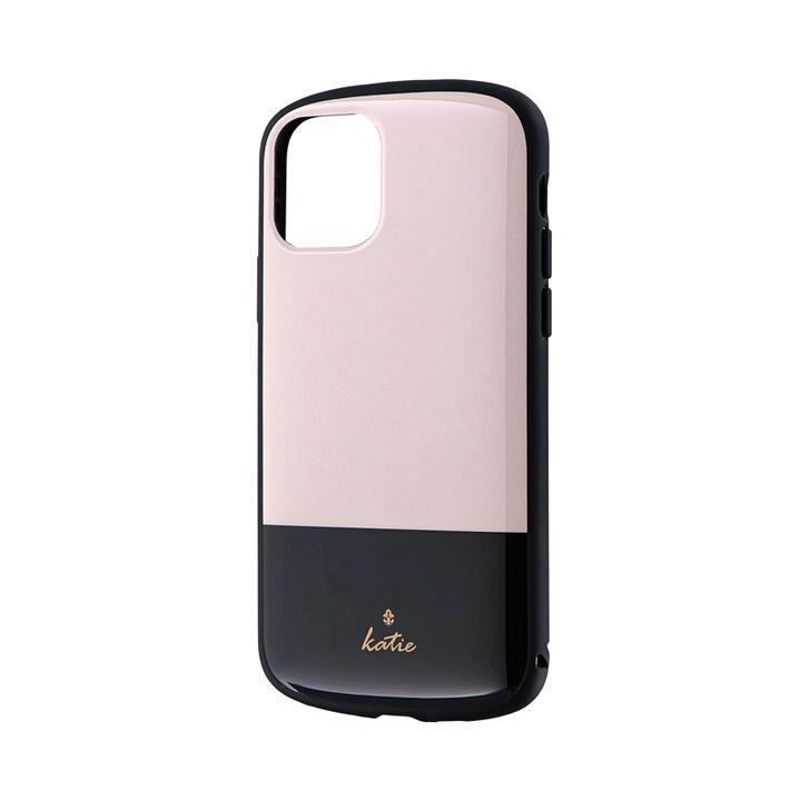 超軽量・極薄・耐衝撃ハイブリッドケース「PALLET Katie」 ツートンベージュ iPhone 11 Pro【9月中旬】_0