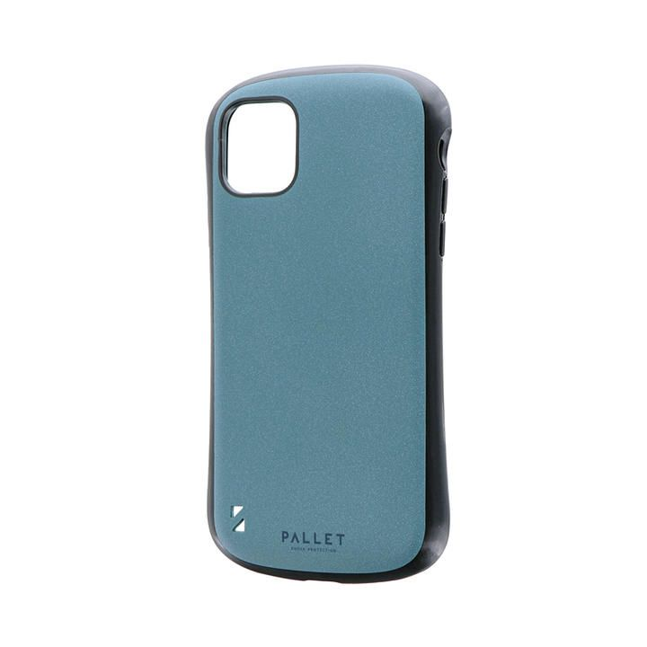 iPhone 11 ケース 超軽量・極薄・耐衝撃ハイブリッドケース「PALLET STEEL」 ライトブルー iPhone 11_0