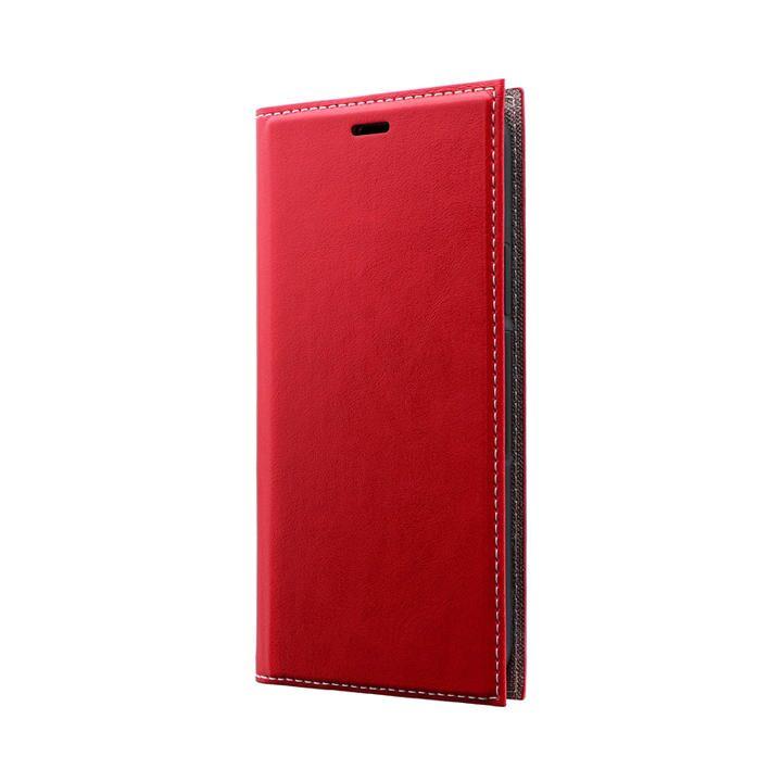 薄型PUレザーフラップケース「PRIME」 レッド iPhone 11 Pro【9月中旬】_0