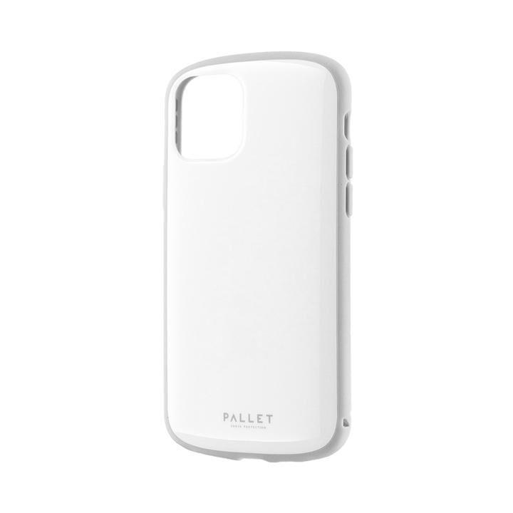 超軽量・極薄・耐衝撃ハイブリッドケース「PALLET AIR」 ホワイトグレー iPhone 11 Pro【9月中旬】_0
