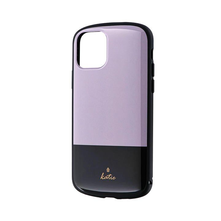 超軽量・極薄・耐衝撃ハイブリッドケース「PALLET Katie」 ツートングレージュ iPhone 11 Pro【9月中旬】_0