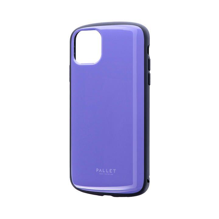 iPhone 11 Pro Max ケース 超軽量・極薄・耐衝撃ハイブリッドケース「PALLET AIR」 パープル iPhone 11 Pro Max_0