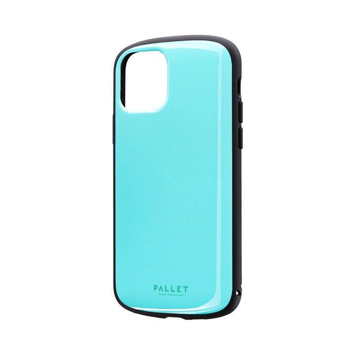 iPhone 11 Pro ケース 超軽量・極薄・耐衝撃ハイブリッドケース「PALLET AIR」 ミントグリーン iPhone 11 Pro_0