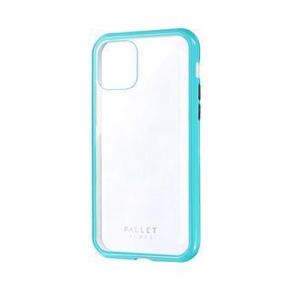 iPhone 11 Pro ケース ガラスハイブリッドケース「SHELL GLASS COLOR」 クリアミントグリーン iPhone 11 Pro【9月中旬】