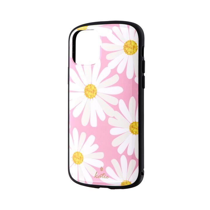 超軽量・極薄・耐衝撃ハイブリッドケース「PALLET Katie」 マーガレットピンク iPhone 11 Pro【9月中旬】_0