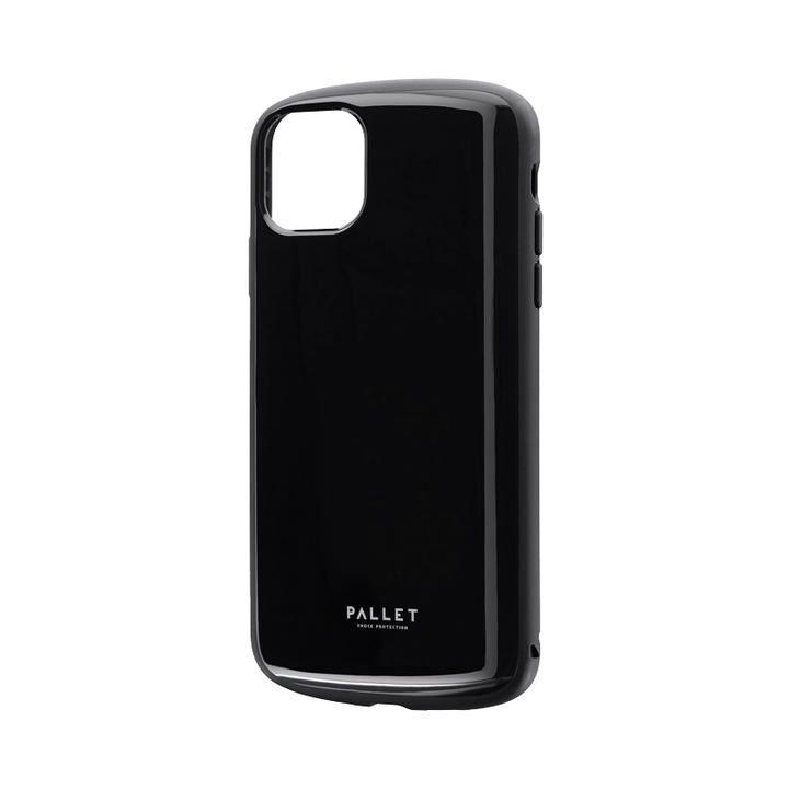 iPhone 11 Pro Max ケース 超軽量・極薄・耐衝撃ハイブリッドケース「PALLET AIR」 ブラック iPhone 11 Pro Max_0