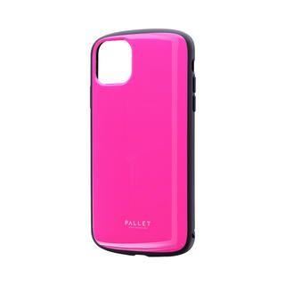 iPhone 11 Pro Max ケース 超軽量・極薄・耐衝撃ハイブリッドケース「PALLET AIR」 ホットピンク iPhone 11 Pro Max