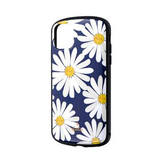 iPhone 11 ケース 超軽量・極薄・耐衝撃ハイブリッドケース「PALLET Katie」 マーガレットネイビー iPhone 11