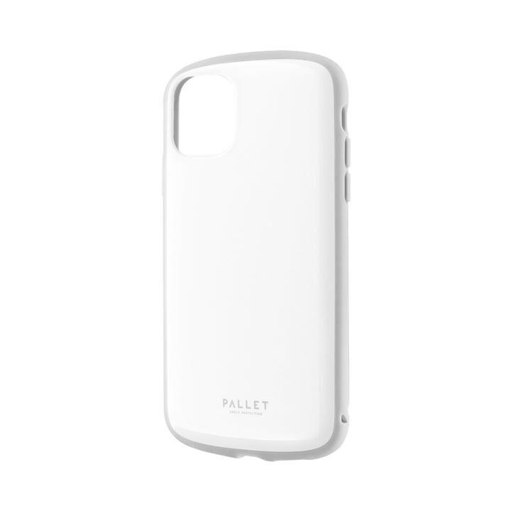 iPhone 11 ケース 超軽量・極薄・耐衝撃ハイブリッドケース「PALLET AIR」 ホワイトグレー iPhone 11_0