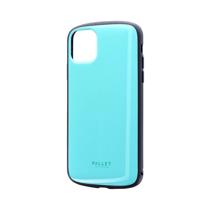 iPhone 11 Pro Max ケース 超軽量・極薄・耐衝撃ハイブリッドケース「PALLET AIR」 ミントグリーン iPhone 11 Pro Max_0