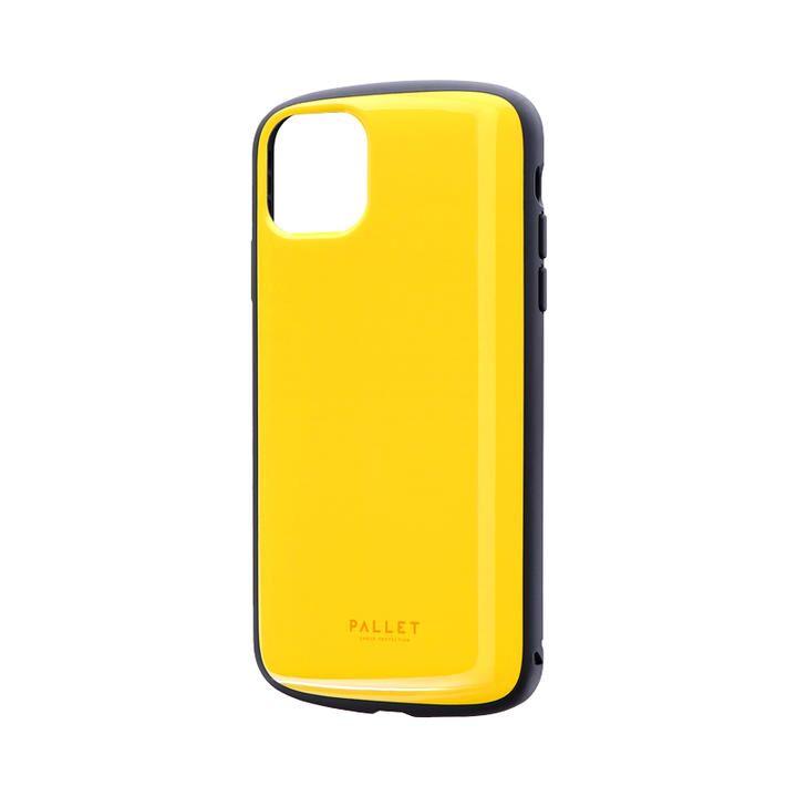 iPhone 11 Pro Max ケース 超軽量・極薄・耐衝撃ハイブリッドケース「PALLET AIR」 イエロー iPhone 11 Pro Max_0