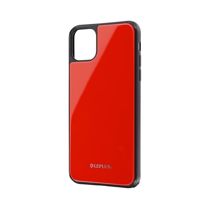 iPhone 11 Pro Max ケース 背面ガラスシェルケース「SHELL GLASS」 レッド iPhone 11 Pro Max_0