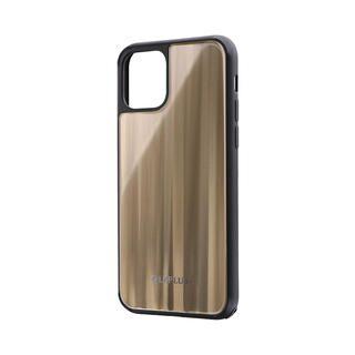iPhone 11 Pro ケース 背面ガラスシェルケース「SHELL GLASS」 ゴールド iPhone 11 Pro