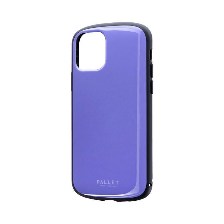 iPhone 11 Pro ケース 超軽量・極薄・耐衝撃ハイブリッドケース「PALLET AIR」 パープル iPhone 11 Pro_0