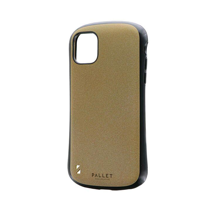 超軽量・極薄・耐衝撃ハイブリッドケース「PALLET STEEL」 イエローベージュ iPhone 11【9月中旬】_0