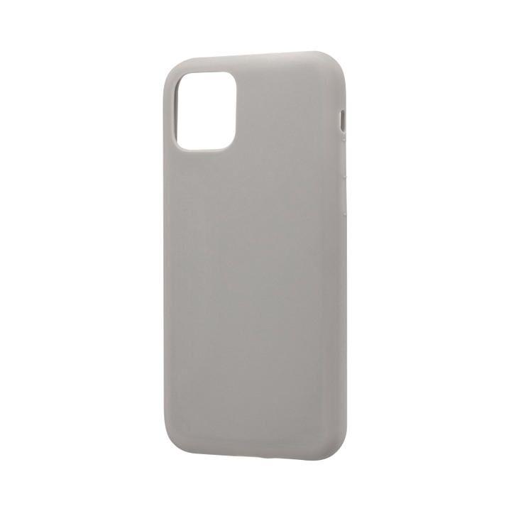 シンプルソフトケース「SMOOTH」 ライトグレー iPhone 11 Pro【9月中旬】_0