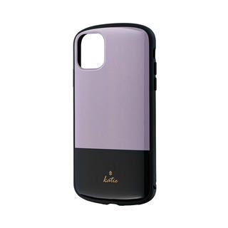 iPhone 11 ケース 超軽量・極薄・耐衝撃ハイブリッドケース「PALLET Katie」 ツートングレージュ iPhone 11