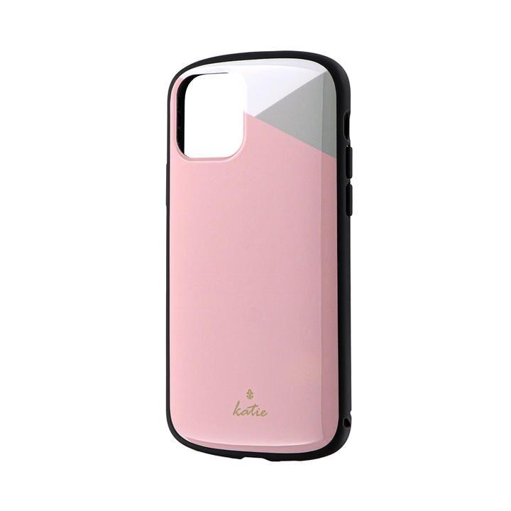 iPhone 11 Pro ケース 超軽量・極薄・耐衝撃ハイブリッドケース「PALLET Katie」 パステルピンク iPhone 11 Pro_0