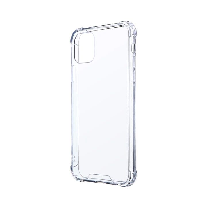 耐傷・耐衝撃ハイブリッドケース「CLEAR TOUGH」 クリア iPhone 11 Pro Max_0