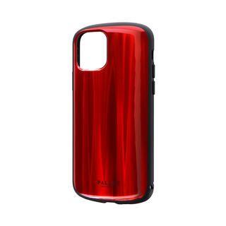 iPhone 11 Pro ケース 超軽量・極薄・耐衝撃ハイブリッドケース「PALLET METAL」 レッド iPhone 11 Pro