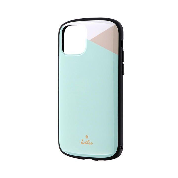 iPhone 11 Pro ケース 超軽量・極薄・耐衝撃ハイブリッドケース「PALLET Katie」 パステルミント iPhone 11 Pro_0