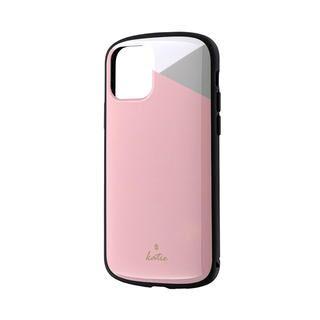 iPhone 11 Pro ケース 超軽量・極薄・耐衝撃ハイブリッドケース「PALLET Katie」 パステルピンク iPhone 11 Pro