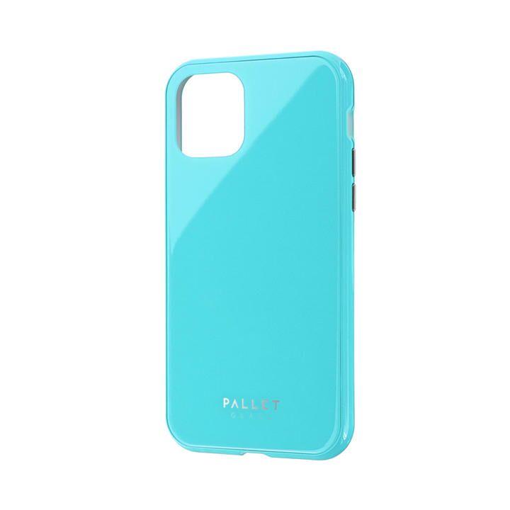 iPhone 11 Pro ケース ガラスハイブリッドケース「SHELL GLASS COLOR」 ミントグリーン iPhone 11 Pro_0