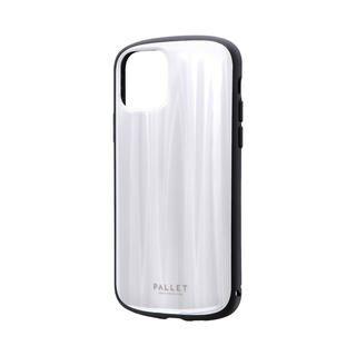 iPhone 11 Pro ケース 超軽量・極薄・耐衝撃ハイブリッドケース「PALLET METAL」 ホワイト iPhone 11 Pro