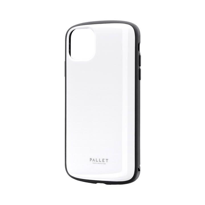 超軽量・極薄・耐衝撃ハイブリッドケース「PALLET AIR」 ホワイト iPhone 11 Pro Max【9月中旬】_0
