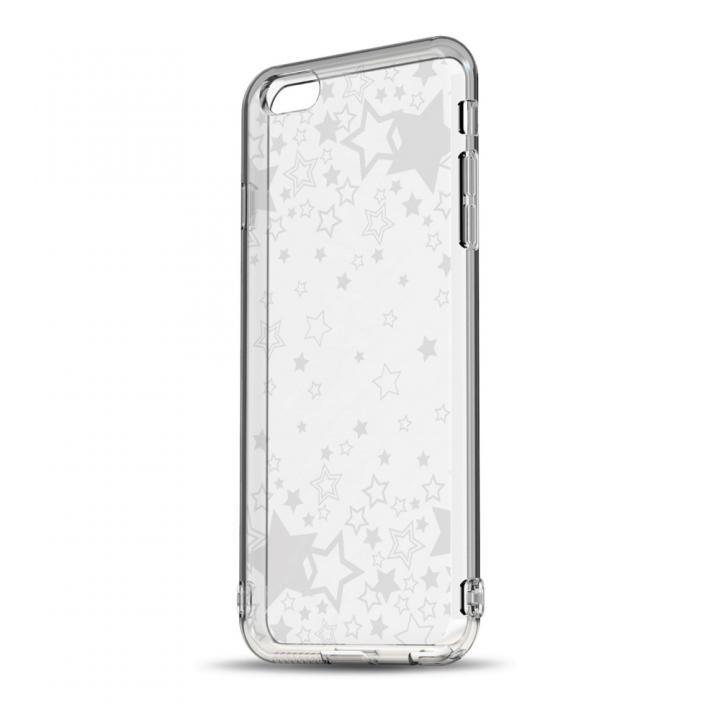 【iPhone6ケース】ソフトTPUケース ストラップホール&保護キャップ付き(トゥインクルスター) iPhone 6ケース_0