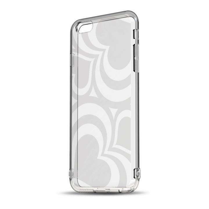 iPhone6 ケース ソフトTPUケース ストラップホール&保護キャップ付き(フレアハート) iPhone 6ケース_0
