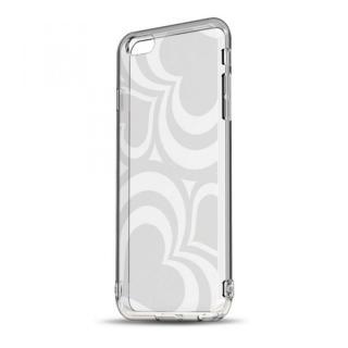 ソフトTPUケース ストラップホール&保護キャップ付き(フレアハート) iPhone 6ケース