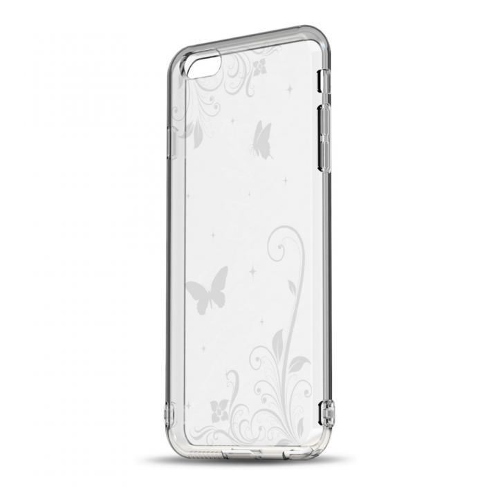 【iPhone6s/6ケース】ソフトTPUケース ストラップホール&保護キャップ付き(パラダイス) iPhone 6s/6ケース_0