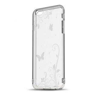 ソフトTPUケース ストラップホール&保護キャップ付き(パラダイス) iPhone 6s/6ケース
