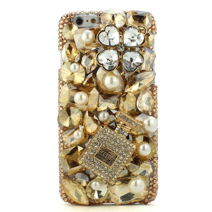 【iPhone6ケース】ストーンデコレーションケース 香水 iPhone 6ケース_0