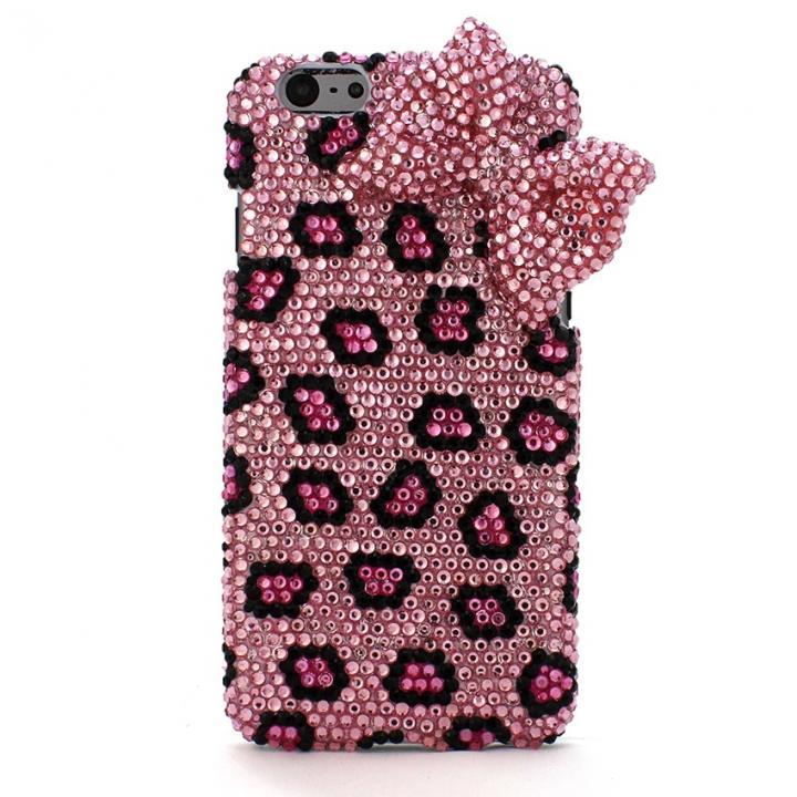 ストーンデコレーションケース チュトラリボン(ピンク) iPhone 6s/6ケース