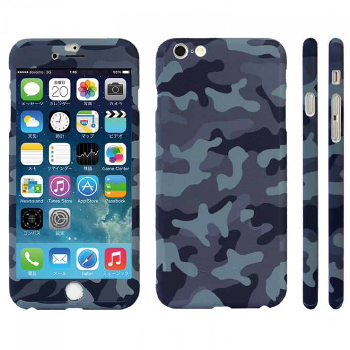 iPhone6s ケース 極薄ハードケース ZENDO Nano Skin カモフラブルー iPhone 6s_0