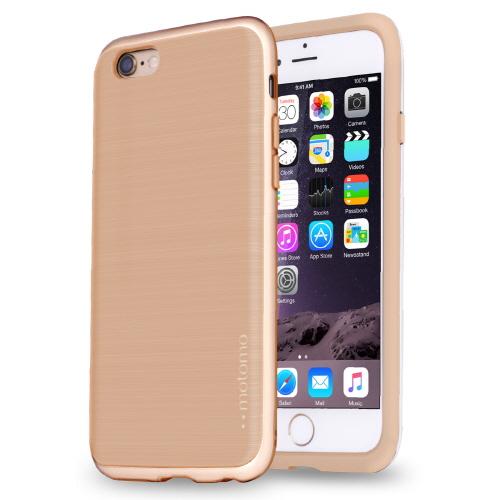 【iPhone6s/6ケース】TPUケース INFINITY マット ベージュゴールド iPhone 6s/6_0
