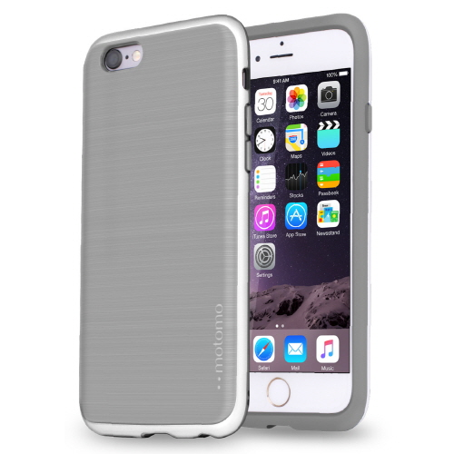 iPhone6s/6 ケース TPUケース INFINITY マット グレーシルバー iPhone 6s/6_0