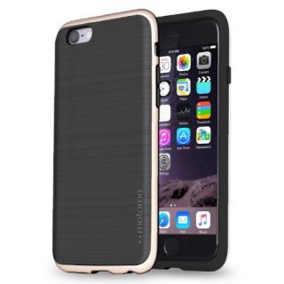 TPUケース INFINITY マット ブラックゴールド iPhone 6s/6